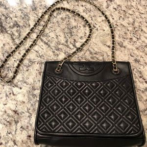 Authentic Tory Burch Fleming Shoulder Bag